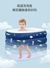 充氣泳池 嬰兒游泳池寶寶游泳池家用兒童可折疊充氣大型加厚游泳池 WW
