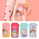 收納包-棒棒糖女孩筆袋/鉛筆盒/文具-共4色-B300097-FuFu