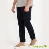 彈性長褲01黑-bossini男裝