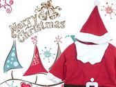 MERRY X 39 MAS 耶誕老公公連身 衣聖誕節必穿附帽子
