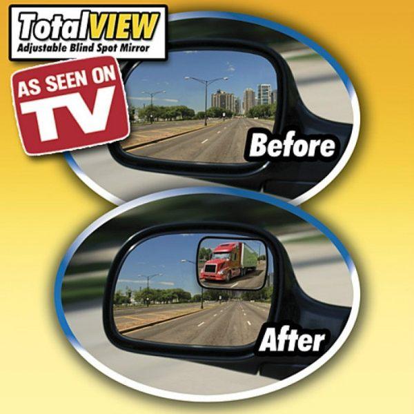 360°調節旋轉全視線輔助後照鏡 (2個/組)