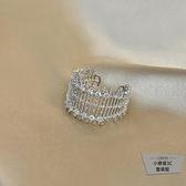 開口戒指簡約個時尚食指指環女韓版【小檸檬3C】