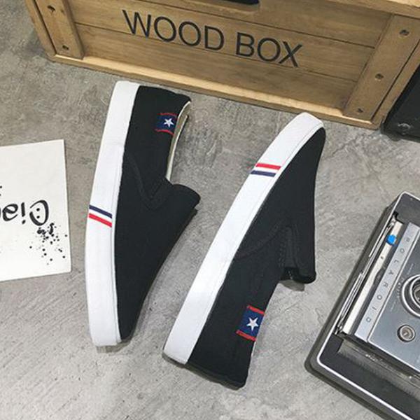 X-INGCHI 男女款黑色休閒鞋 X0432