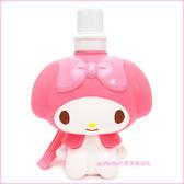 asdfkitty可愛家☆美樂蒂造型直飲水壺-550ML-日本正版商品