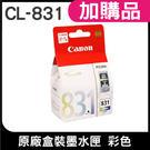 CANON CL-831 彩 原廠盒裝墨水匣