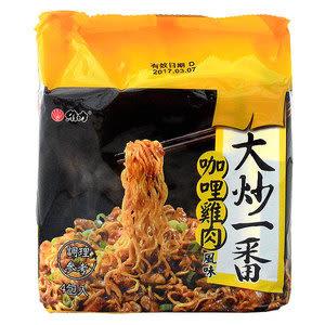 維力大炒一番泡麵85g(4入/袋)-鐵板牛肉新口味【合迷雅好物超級商城】