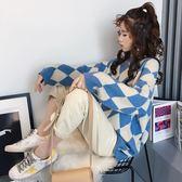 (全館一件免運)DE SHOP~(ER-5858)慵懶風毛衣女套頭寬鬆小清新長袖針織衫