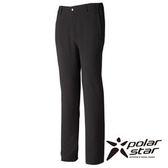 PolarStar 中性 SOFT SHELL保暖褲 『黑灰』P15407 休閒褲│釣魚褲│登山褲│耐磨褲