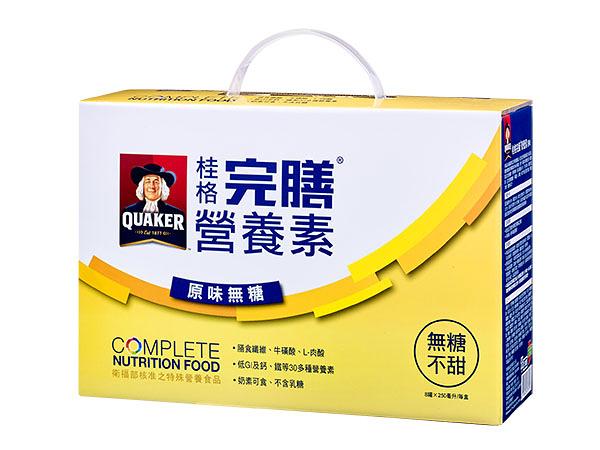 桂格完膳營養素-原味無糖口味禮盒(不甜) 250ml*8罐/組   *維康