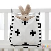 尿布掛袋兒童置物收納袋掛袋外出便攜兒童床尿布袋收納包儲物袋13 色