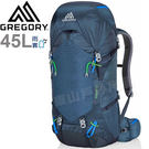 Gregory 77838-1598海軍藍 Stout 45L專業透氣登山背包 重裝背包/遠征健行包/雙肩後背包/自助旅行