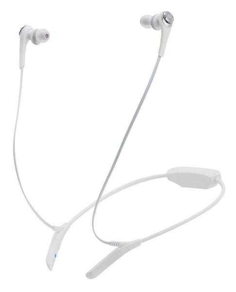 【台中平價鋪】全新 鐵三角 ATH-CKS550BT 白 藍芽重低音 耳塞式耳機 台灣鐵三角公司貨