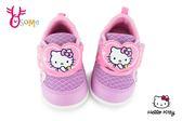 Hello kitty 學步鞋 小童 透氣 MIT 寶寶運動鞋 H7800#紫色◆OSOME奧森童鞋