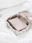 化妝收納包 EACHY網紅化妝包女便攜旅行新款ins風超火洗漱品收納袋大容量 伊芙莎