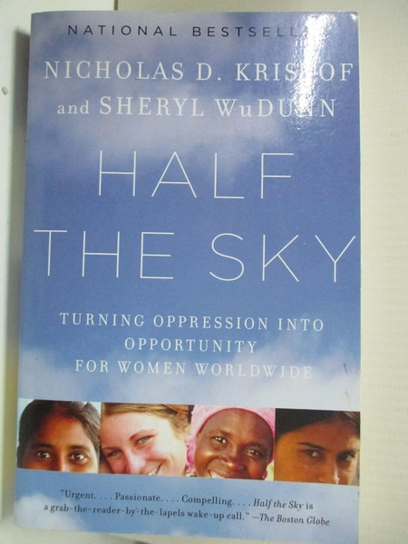 【書寶二手書T2/原文書_BDD】Half the Sky-Turning Oppression into…_Kristof, Nicholas D