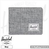 Herschel 皮夾 灰色 可放零錢款短夾  Roy PL-919 MyBag得意時袋