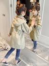 女童外套 女童風衣外套中長款秋裝新款韓版洋氣兒童英倫風春秋大童公主 星河光年