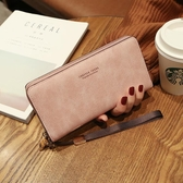 女士手拿長款錢包2020新款韓版手包多功能手機包零錢包時尚錢夾女 HOME 新品