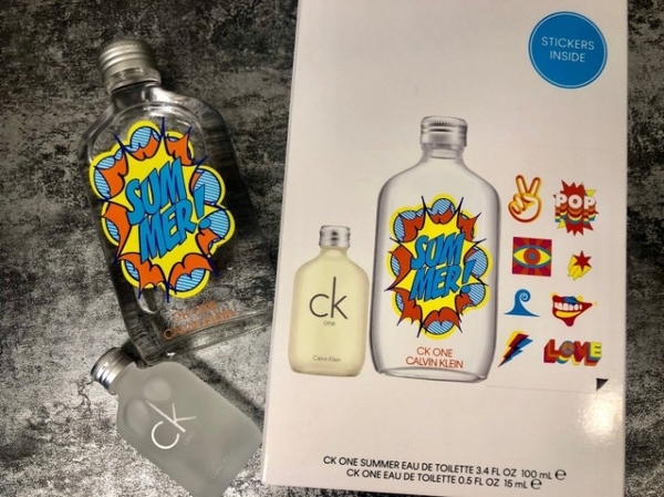 ◐香水綁馬尾◐Calvin Klein CK ONE Summer 2019夏日禮盒 100ml+CK ONE15ml