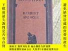 二手書博民逛書店THINKERS罕見LIBRARY EDUCATION HERBERT SPENCER(小32開)1929年舊書奇
