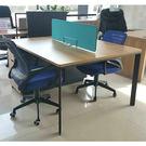 偉利摩卡2人屏風工作站/辦公桌/桌上型屏...