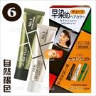 日本原裝! 寶王染霜7分鐘快染 6號-自然褐色[10814]快速染髮霜