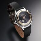 【萬年鐘錶】Citizen Eco Drive 限量款 光動能 天然鑽5顆  球面藍寶石玻璃 絹絲質感皮帶 女錶 EW5524-16E