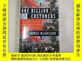 二手書博民逛書店One罕見Billion Customers:Lessons from the Front s of Doing