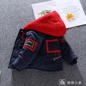 夾克寶寶棉衣男冬裝嬰兒棉服燈芯絨外套1-3歲韓版男童加絨加厚棉襖潮4 娜娜小屋