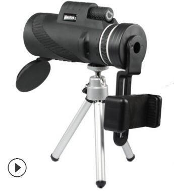 單筒望遠鏡手機拍照 兒童40x60高倍高清軍夜視迷妳望眼鏡戶外   現貨    24小時出貨     易家樂