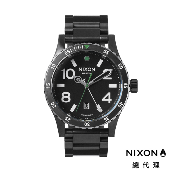 【官方旗艦店】NIXON DIPLOMAT 正裝錶 高階款 藍寶石鏡面 黑 潮人裝備 潮人態度 禮物首選
