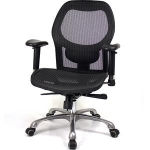 aaronation愛倫國度 透氣尼龍網布鋁合金五爪腳主管椅(i-21