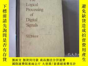 二手書博民逛書店THE罕見LOGICAL PROCESSING OF DIGIT