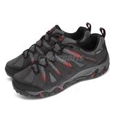 Merrell 戶外鞋 Mojave Waterproof 黑 紅 男鞋 戶外 越野 運動鞋【PUMP306】 ML32267