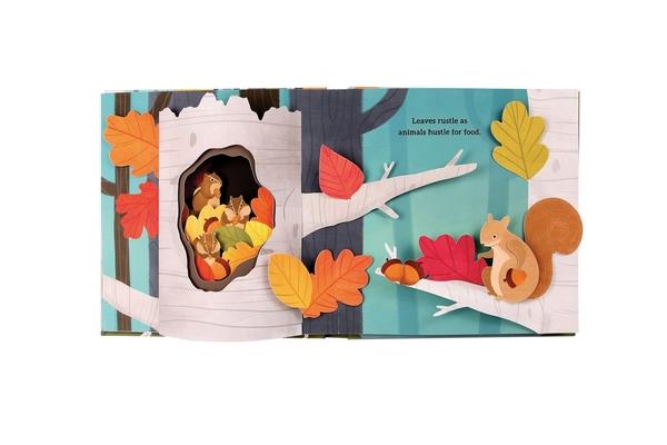 【秋天之美】LEAVES: AN AUTUMN POP-UP BOOK/立體書《主題:秋天.自然》
