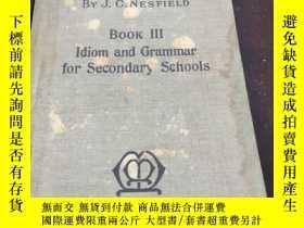 二手書博民逛書店罕見IDIOM.AND.GRAMMARY248764 出版193