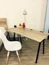 【石川傢居】YA-191-10 原野A字鐵腳電腦桌/書桌/寫字桌/工作桌 (附插座)(不含椅) 共四色可選