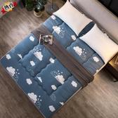 床墊 加厚學生宿舍0.9米1.0m床2米雙人床褥軟墊褥子單人墊被XW 快速出貨