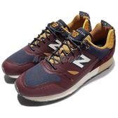 【六折特賣】New Balance 慢跑鞋 Trailbuster Re-Engineered 紅 藍 酒紅 復古 男鞋【PUMP306】 TBTFHBND
