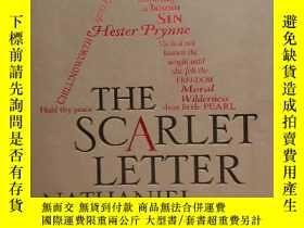 二手書博民逛書店字雲經典系列罕見The Scarlet Letter 紅字 納撒尼爾霍桑 英文原版小說Y415019 見書頁