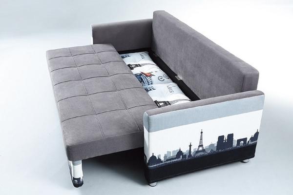 沙發 L型布沙發 PK-280-2 L型沙發床(左右通用)【大眾家居舘】