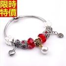 串珠手鍊-水晶飾品風靡流行歐美風格時尚配...