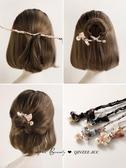盤髮神器韓國盤發神器造型器半丸子頭懶人發飾花苞頭蓬鬆頭飾女發夾后腦勺  雲朵走走