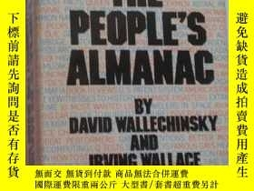 二手書博民逛書店THE罕見PEOPLE S ALMANAC 人民年鑑Y19285