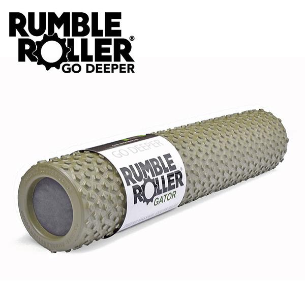 樂買網 Rumble Roller 揉壓按摩滾輪 狼牙棒 Gator 鱷皮系列 56cm 代理商貨 正品 送MIT厚底襪