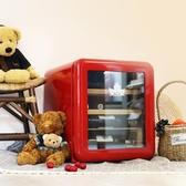 紅酒櫃SC-46CTC紅酒柜小型家用冷藏飲料酒柜冰吧窖冰箱玻璃門-凡屋FC