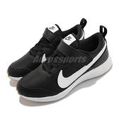Nike 童鞋 Varsity Leather PSV 黑 白 魔鬼氈 膠底 小朋友 【ACS】 CN9393-008