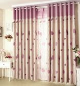 全遮光窗簾布料成品現代簡約歐式客廳臥室落地窗飄窗婚房定制加厚 699八八折