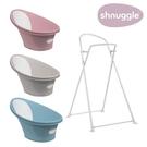 【英國Shnuggle】月亮澡盆2021+澡盆專用架U2超值組(台灣總代理公司貨),一個人輕鬆幫寶寶洗澡