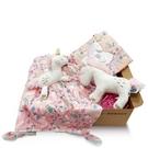 【MaryMeyer】 獨角獸臻藏禮盒(手搖鈴+安撫巾+沙沙紙)【六甲媽咪】